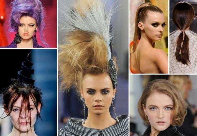 Tendenze capelli alle sfilate Parigi Haute Couture Primavera Estate ... e3da9aa55d0c