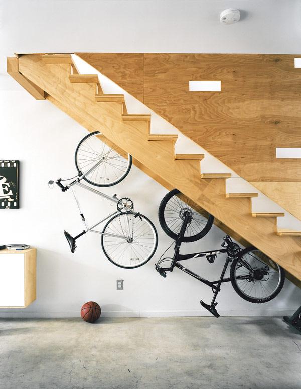 curioso porta bici
