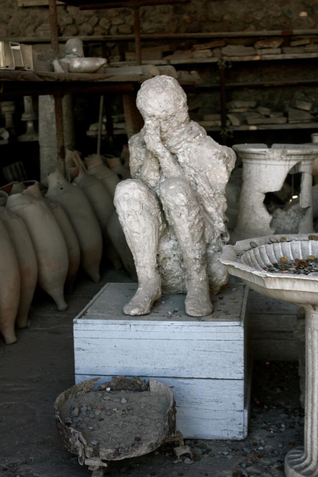 ombre di pietra a pompei